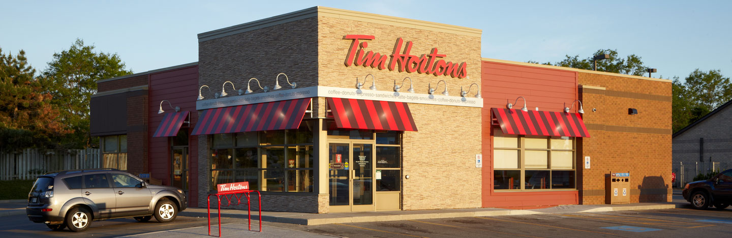 Tim Hortons first restaurant